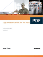 Digital Opportunities for Postal Industry-Microsoft