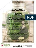 Shoresh Food Conference