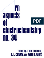 Modern Aspects of Electrochemistry No. 34 - b. e. Conway