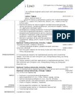 Joutingliao Resume 2011
