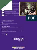 Artcurial Studies_Programme 08 09