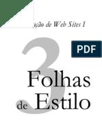 Folhas de Estilo - CSS