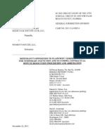 WPS Opposition to Borislow Motion for Temp Injunction