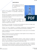 BBC Mundo - América Latina - Los U'wa contra las petroleras