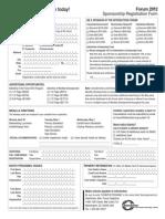 Forum 2012 Sponsor Registration Form_FINAL_0