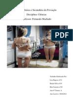 Anorexia e Bulimia Nervosa- Escrito