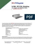EMI-Shield Installation Instructions