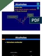 Alcoholes, Éteres, Fenoles, Tioles y Sulfuros