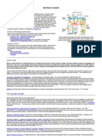 Gut flora and probiotics