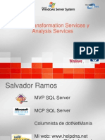 DTSyAnalysisServices Salvador Ramos