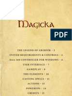 Magicka PC Manual