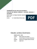 Oral de Pension cia Maria Cuca Chavez (Estudio Juridico Doctrinario