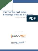 1000watt Top Ten Real Estate Brokerage Websites