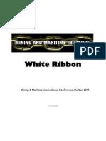 Address Mick Doleman - Akhona Geveza & White Ribbon Initative