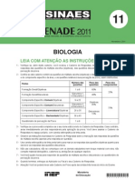 BIOLOGIA ENADE 2011