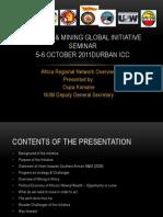African Region Overview - Oupa Komane