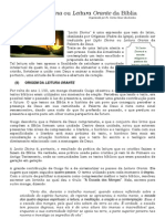 Lectio Divina/Leitura Orante