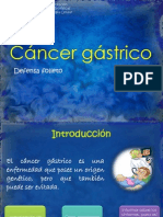 Cáncer gástrico power point