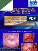 NIC y Cáncer Prevención y Screening Público General PHM Jul 2010