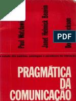 46560810 WATZLAWICK Paul Pragmatic A Da Comunicacao Humana