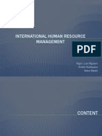 International Human Resource Management Whole
