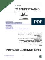ApostilaCompleta TJ DireitoAdministrativo2008