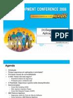 (in)Seguranca Em Aplicacoes Web