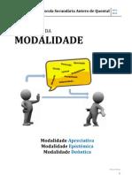 EXPRESSÃO DA MODALIDADE
