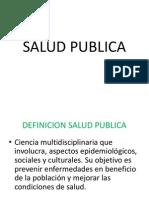 Salud Publica Examen 2 Parcial