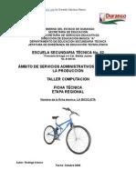 Análisis de objeto técnico La Bicicleta (Version 2)