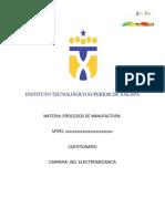 Procesos de Manufactura rio 3 a Electromecanica3