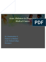 Final Acute Abdomen in Pregnancy