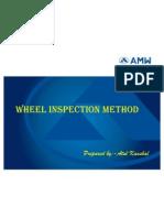 Wheel Insp Method