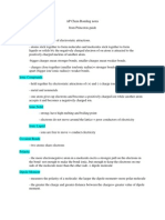 AP Chem Bonding Notes