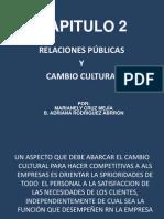 03 Las relaciones públicas, cultura organizacional y el cambio Nely y Adriana