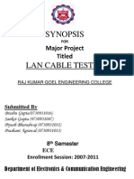 Lan Cable Tester (Synopsis)