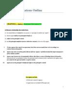 Business Association Outline