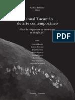 Manual Tucuman de arte contemporáneo