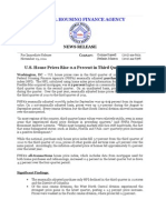 FHFA Home Price Index Q3 2011