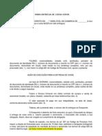 MODELO DE EXECU+ç+âO PARA ENTREGA DE COISA CERTA