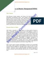 Disaster Management India