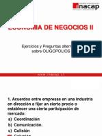 Economia de Negocios II-Ejercicios Oligopolios Respuestas[1]