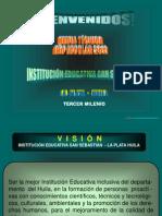 SENSIBILIZACIÓN MEDIA TÉCNICA 2010