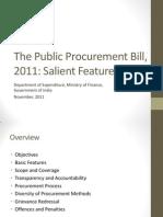 Salient Features Draft PP Bill