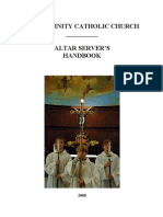 Altar Server Handbook w Pictures