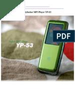 ein SCHOENER MP3 PLAYER YP-S3.2