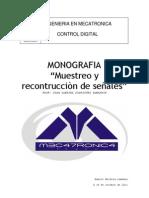 MUESTREO Y RECONTRUCCION DE SEÑALES