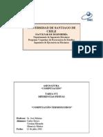 Universidad de Santiago de Chile Diferencias Finitas