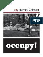 the Occupy Harvard Crimson - 2