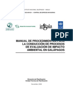 Manual Procedimientos Conduccion Estudio Impacto Ambiental